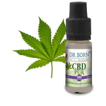 Dr. Born CBD E-Liquid Pur 300mg 10ml