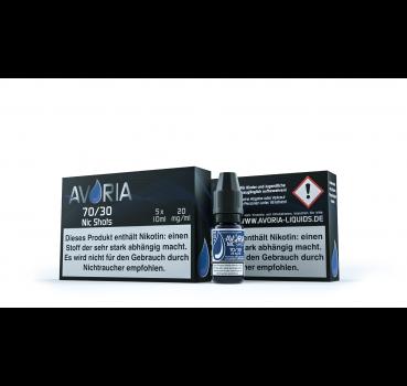 Avoria Nic Shots 75/25 20mg