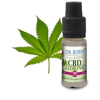 Dr. Born CBD E-Liquid Zitrone 100mg 10ml
