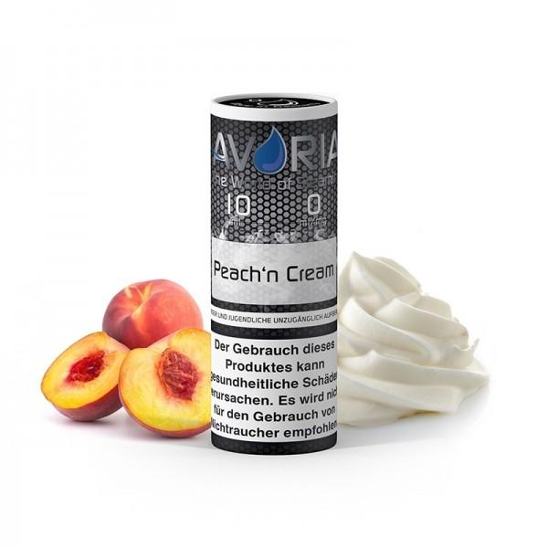Avoria E-Liquid Peach´n Cream