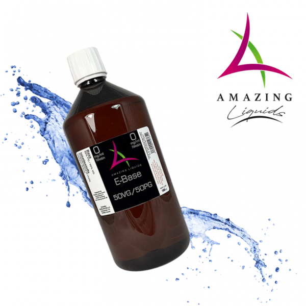Amazing Liquids E-Base 50/50 1000ml