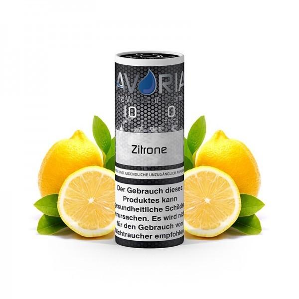 Avoria E-Liquid Zitrone