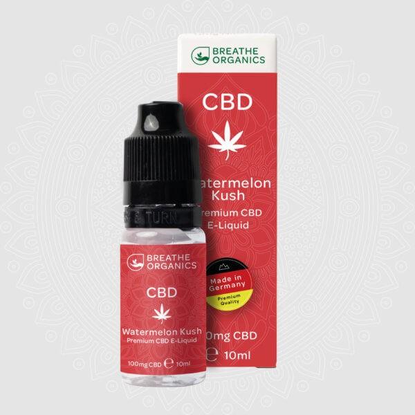 Breathe Organics CBD E-Liquid Watermelon Kush 10ml
