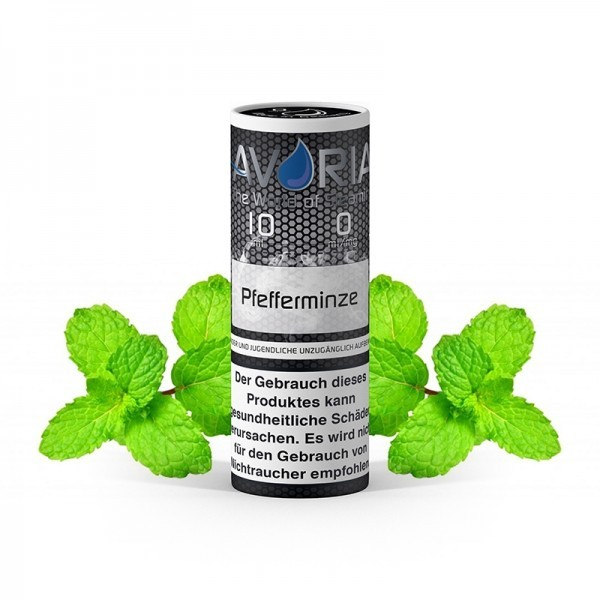 Avoria E-Liquid Pfefferminze