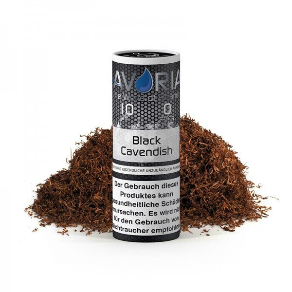 Avoria E-Liquid Black Cavendish